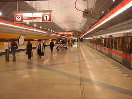 Prague metro Kobylisy station 01.JPG