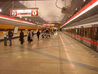 Kobylisy (Prague Metro) - Kobylisy station