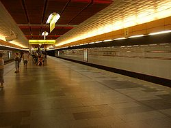 Prague metro Palmovka station 01.JPG