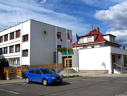 Jak do Praha-Horní Počernice hromadnou dopravou - O místě