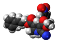 Pranidipine molecule spacefill.png