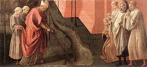 Barbadori Altarpiece - Image: Predella pala barbadori, uffizi, 02