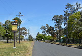 Premer, New South Wales Suburb of Gunnedah Shire, New South Wales, Australia