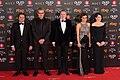 Premios Goya 2018 - Óscar Graefenhain, Mariano Barroso, Íñigo Méndez de Vigo, Dolors Montserrat y Nora Navas.jpg