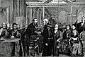 Presentation of Freedom of Turners' Company to King of the Belgians, 1879.jpg