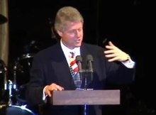 File:President Clinton at a Georgetown Class Reunion Class of 1968 trim.webm