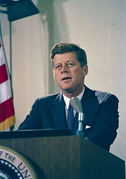 President John F. Kennedy Delivers Address Regarding the Crisis in Cuba (02)