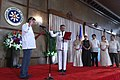 President Rodrigo Duterte administers the oath of office for Armed Forces of the Philippines Chief of Staff Lt. Gen. Ricardo Visaya at the Rizal Hall 02.jpg