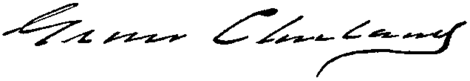 Presidents Grover Cleveland signature.png
