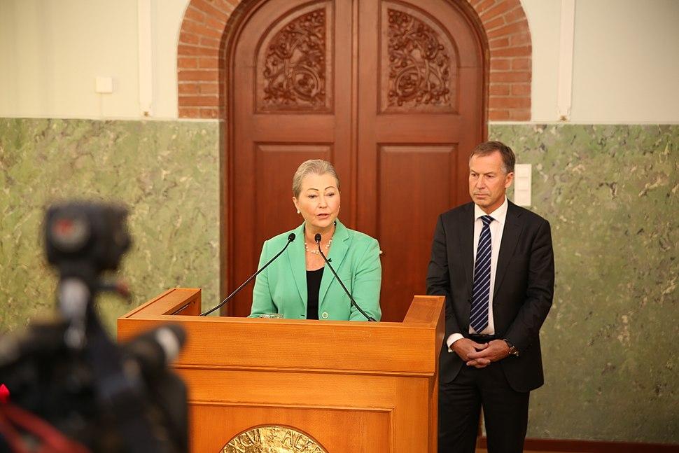Press conference Nobel Peace Prize 2016 (1)