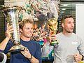 Pressetermin Lukas Podolski und Nico Rosberg, Airport Köln-Bonn-6962.jpg