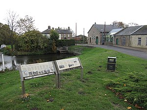 Prickwillow Museum - The front of Prickwillow Museum by the River Lark