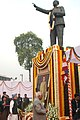 Prime Minister, Dr. Manmohan Singh, paying floral tribute on the occasion of Mahaparinirvan Diwas of Baba Saheb Dr. Bhim Rao Ambedkar in New Delhi on December 6, 2006.jpg