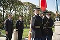 Prime Minister of Italy Matteo Renzi visits Arlington National Cemetery (29803452124).jpg