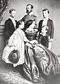 Prince Regent Luitpold, his wife and their children.jpg