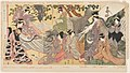 Print, Kabuki players as the Eight Sennin (Triptych), 1810–20 (CH 18446285).jpg