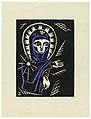 "Print, Madonna, Plate I, ""Ethiopie, cili Christos, Madonna a Svati, jak jsem ie videl v illuminacich starych ethiopskych kodexu"" Portfolio, 1920 (CH 18684909).jpg"