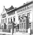 Prinz-Georg-Straße 37, 39, 41 in Düsseldorf , vor 1907 von Architekt Gottfried Wehling aus Düsseldorf, Die Architektur des XX. Jahrhunderts - Zeitschrift für moderne Baukunst. Jahrgang 1907; Nr. 41.jpg