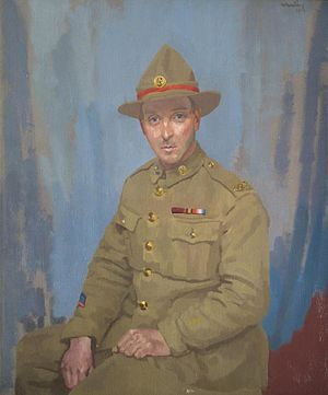 James Crichton (VC) - Private James Crichton, VC (1919) by John Laviers Wheatley