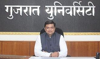 Gujarat University - Prof. Himanshu Pandya, Hon. Vice Chancellor
