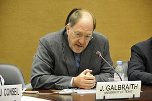 James K. Galbraith - Image: Professor James Galbraith, University of Texas (8008828507)