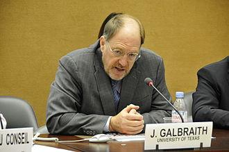 James K. Galbraith - Image: Professor James Galbraith, University of Texas (8008828507)