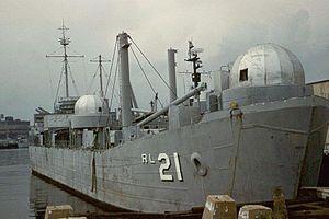 USS Proserpine (ARL-21) - USS Prosperine