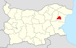 Provadiya Municipality Within Bulgaria.png