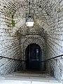 Provins (77), tour César, escalier d'accès vers la salle des gardes 2.jpg