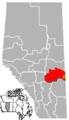 Provost, Alberta Location.png