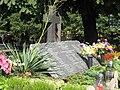 Przyszowice - tablica na zbiorowej mogile pomordowanych przez żołnierzy sowieckich 2 (Nemo5576).jpg
