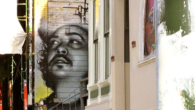File:Public Art Near Haight Street, San Francisco, 5 December, 2011.JPG