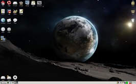 Screenshot Puppy Linux 5.4