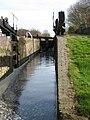 Puttenham Bottom Lock - with lock gates open - geograph.org.uk - 1208293.jpg