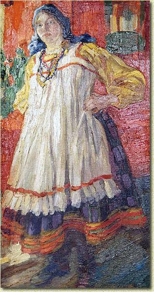 Файл:Pyotr Subbotin-Permyak. Voronezhskaya Baba. 1912.jpg