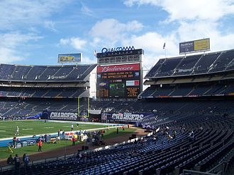 2011 Poinsettia Bowl - The 2011 Poinsettia Bowl was played at Snapdragon Stadium.