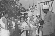 Queen Elizabeth at Durgapur