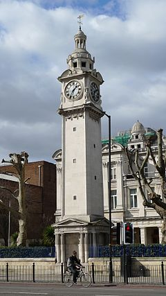 Queens' clocktower, Mile End, E1 3354304450