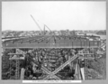 Queensland State Archives 3476 South approach view along deck of steel spans Brisbane 17 June 1937.png