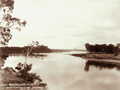 Queensland State Archives 5137 Burnett River looking West Bundaberg c 1896.png
