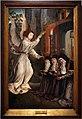 Quentin metsys (cerchia), apparizione dell'angelo a santa chiara, santa ines e santa coleta, 1510-20 ca.jpg