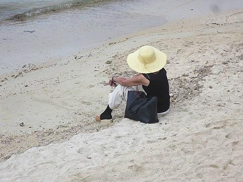 Rêverie solitaire sur la plage.jpg