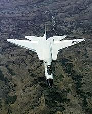 RA-5C Vigilante overhead aerial view