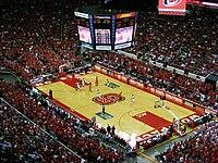 An NC State-Virginia Tech basketball game