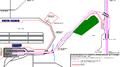 RZD Sheremetyevskaya - Sheremetyevo line diagram.png
