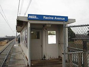 Racine Avenue station - Image: Racine Avenue Metra Station