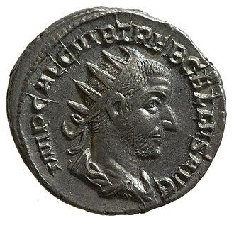 Trebonianus Gallus - Radiate of Trebonianus Gallus