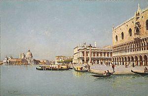 Vista de la plaza de San Marco (Piazza San Mar...