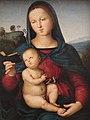 Raffaello Sanzio (Urbino, 28 marzo 1483 – Roma, 6 aprile 1520) - Madonna Solly (1500-1504) Olio su tavola dimensioni 52x38 cm. - Gemäldegalerie, Berlino.jpg