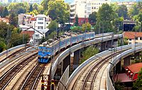 Railway bridges belgrade railway junction.JPG